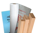 building products housewrap, lumber, insulation board