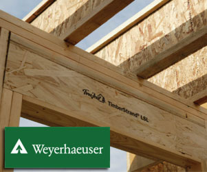 Timberstrand Headers and Rimboards for dimensional framing