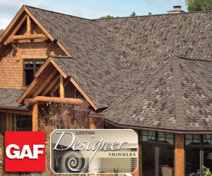 GAF Lifetime Designer Shingles